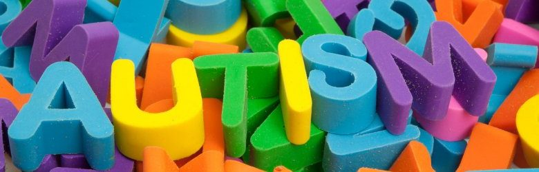 autism colourful letter pieces