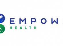 empower health header blue and green