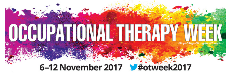 occupational therapy week november with splash of colours