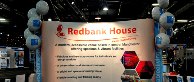 redbank house banner with balloons and kidz to adultz north