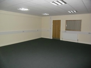 large empty office space at redbank house