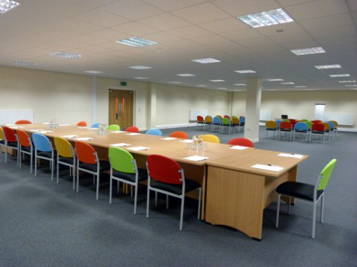 boardroom room hire layout