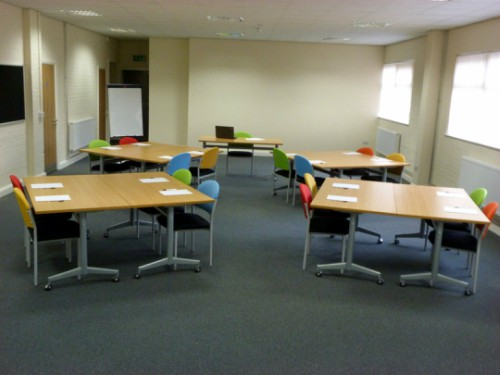 ushape room hire layout